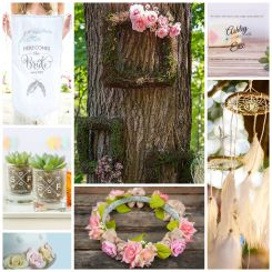 Boho Chic Theme Wedding