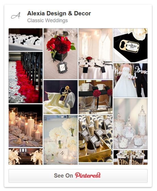 Follow Alexia Design & Decor on Pinterest