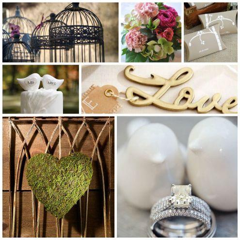Lovebirds Wedding Inspiration